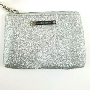 Victoria's Secret Beauty Rush Card Pouch Silver